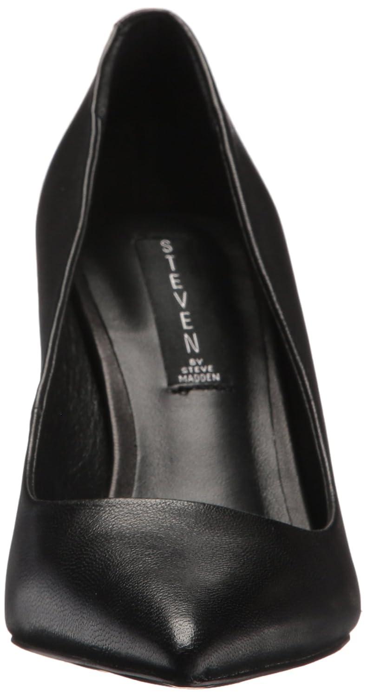 STEVEN by Steve Madden Women's Local Pump B077HMQZR4 10 B(M) US|Black Leather