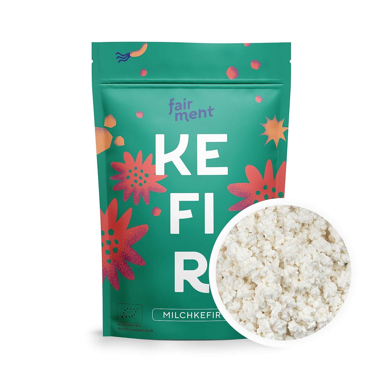 Fairment Starterkultur Kefir - Milchkefir einfach selber machen - Bio Kultur Kefir Knollen mit Anleitung - bekannt aus der Höhle der Löwen: Amazon.de: Lebensmittel & Getränke -