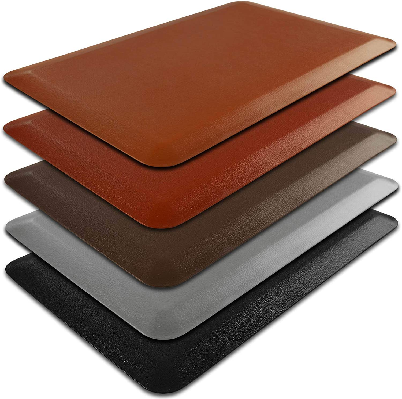 Amazon Com Kitchen Mat Anti Fatigue Mat 3 4 Thick Ergonomically Engineered Non Slip Waterproof 20 X72 Brown Kitchen Dining