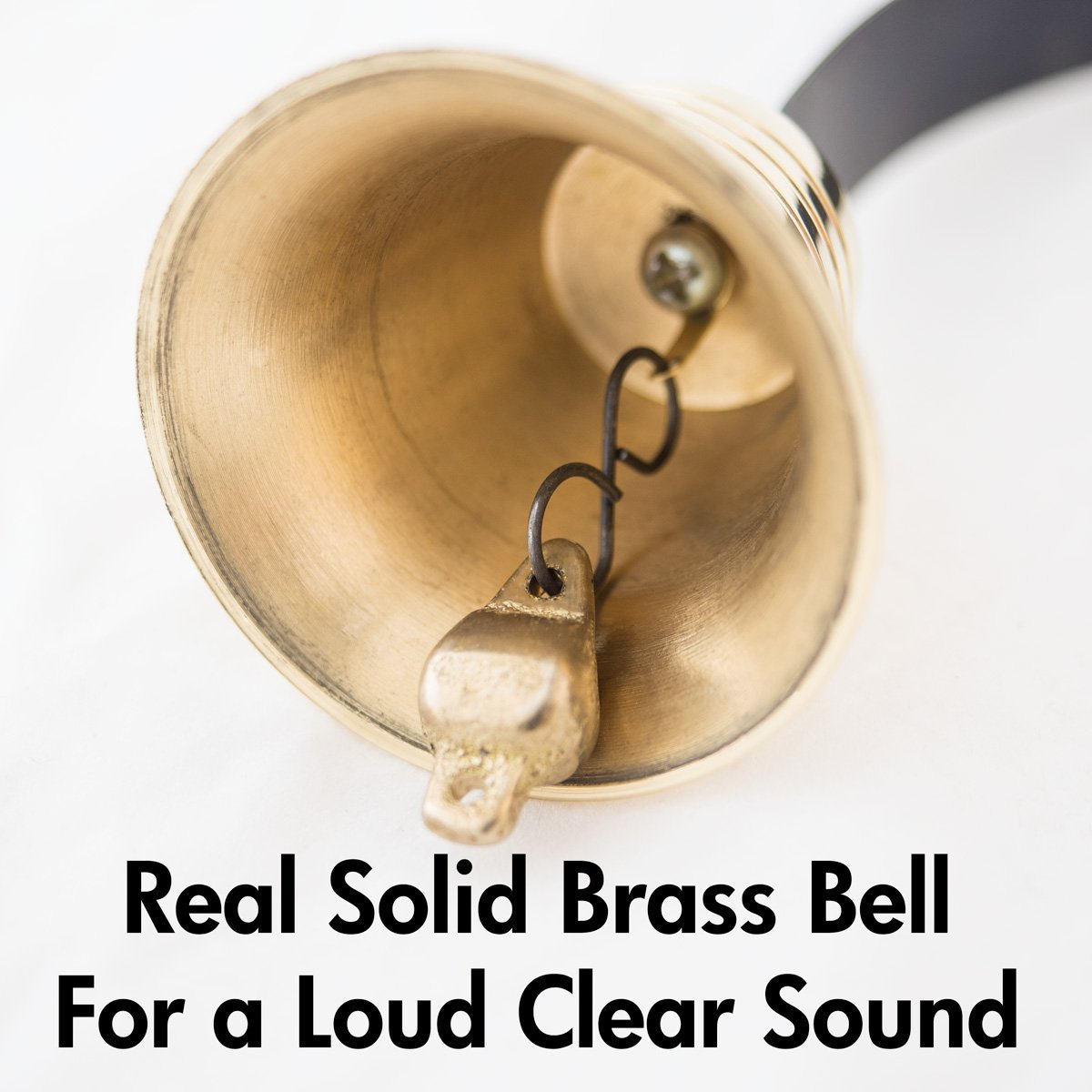 Dog Doorbell - GoGo Bell Deluxe with Solid Brass Bell For Loud Clear Tone by Dog Doorbell (Image #2)