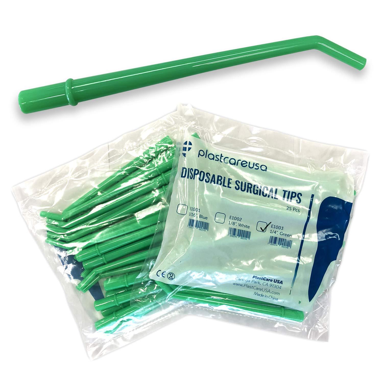 100 puntas grandes de succión para aspirador quirúrgico dental, 1 ...