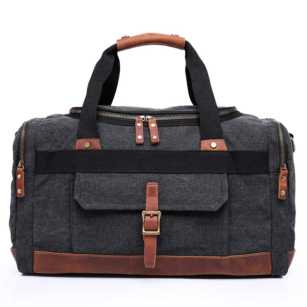 Single Shoulder Skew Multifunctional Luggage Bags Large Capacity Handbags Ybriefbag Unisex Canvas Travel Bags Casual Mens Canvas Mens Bags Vacation