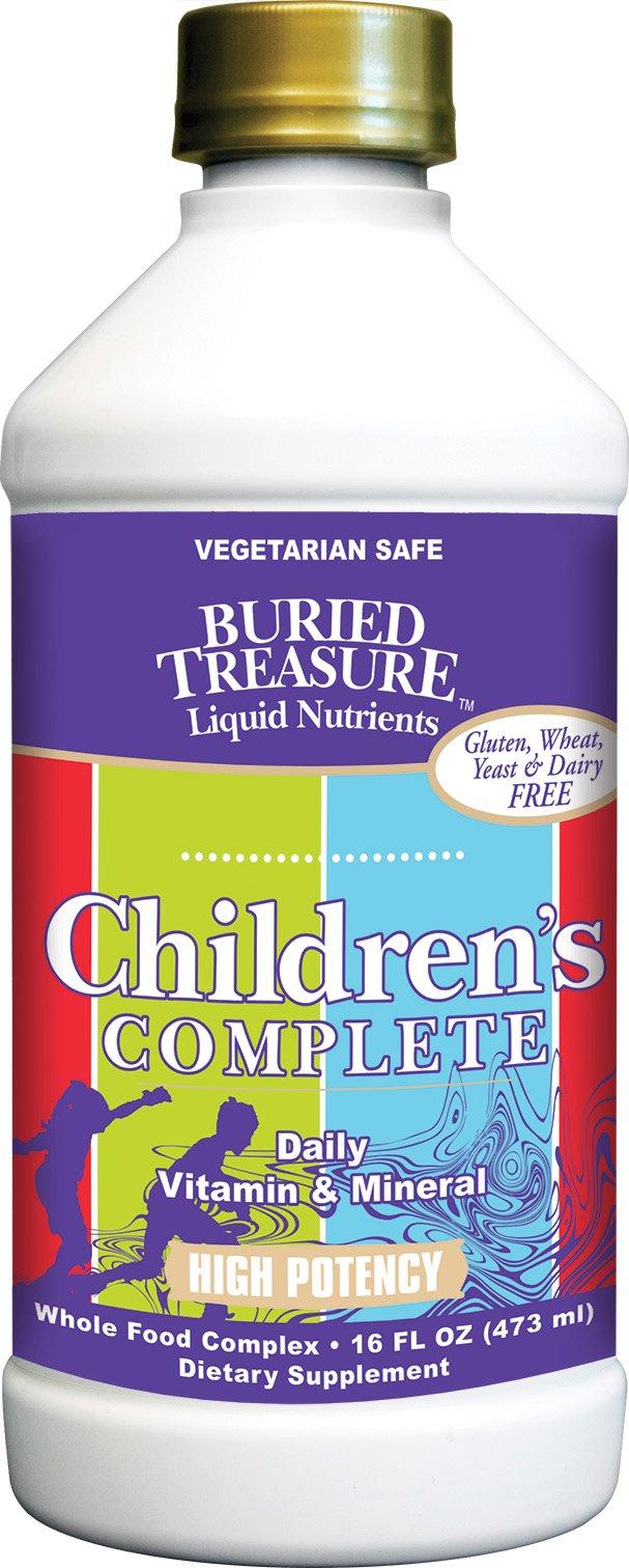Buried Treasure Children's Complete Multivitamin Liquid Supplement 16 Oz