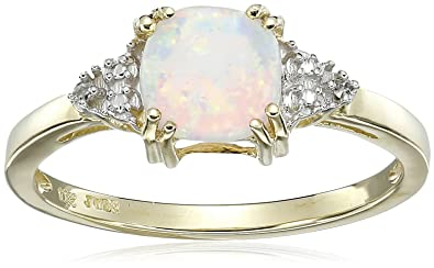 black ring birthstone filled october opal grande products rings gold oriannas