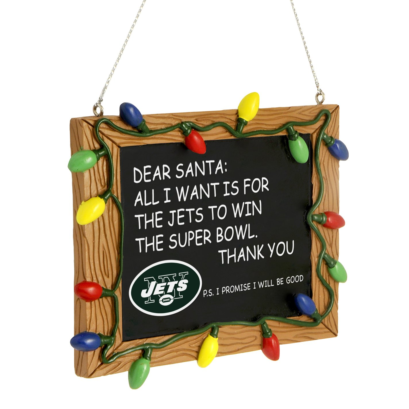 Amazon.com : FOCO New York Giants Resin Chalkboard Sign Ornament ...