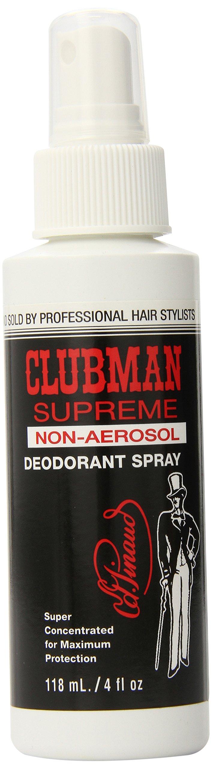 Clubman Non-Aerosol Deodorant Spray, 4 Ounce