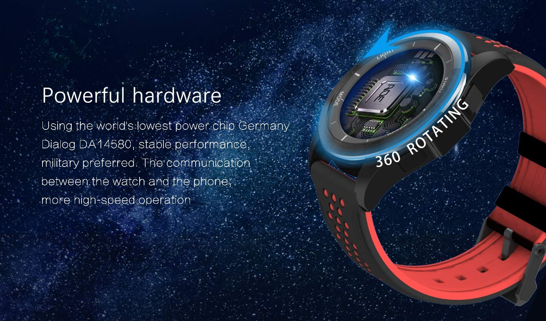 Reloj inteligente con Bluetooth de larga espera IP68 a ...