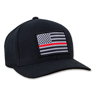 new arrival ae03c 799cc ireland hoo rag thin red line american flag hat quick dry fitted flexfit cap  60748 ae104