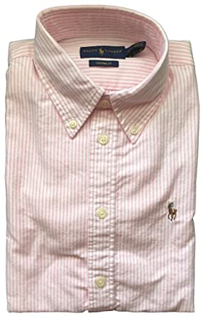 Amazon.com  Polo Ralph Lauren Women s Relaxed Fit Oxford Buttondown ... 5a7dadfed