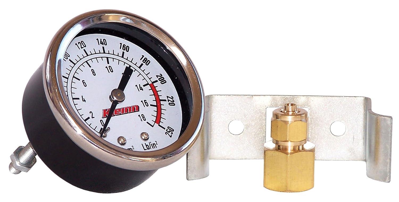 Kleinn Air Horns 1021 Dash Mount Air Pressure Gauge