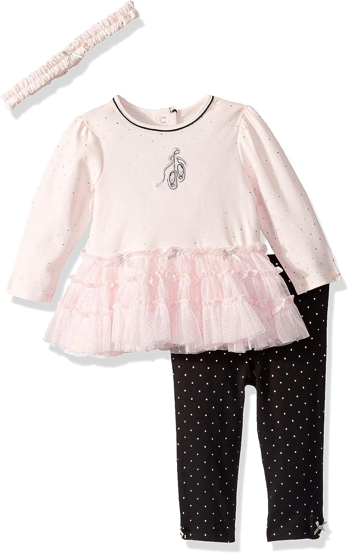 Little Me Baby Girl's Tutu Legging Set Shirt