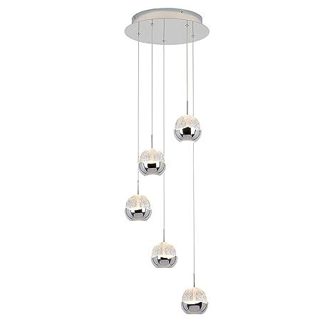 Amazon.com: Artika ORA5L-C1 Oracle 5 - Lámpara de techo con ...