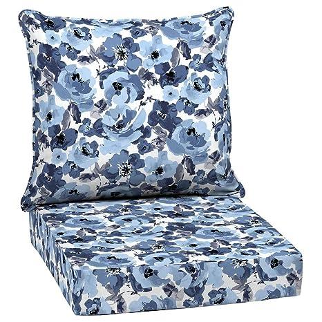 Arden Selections 24 X 24 Garden Delight 2 Piece Deep Seating Outdoor Lounge Chair Cushion