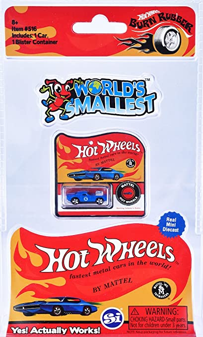 Amazon.com  World s Smallest Hot Wheels  Toys   Games 5aba34146afd4