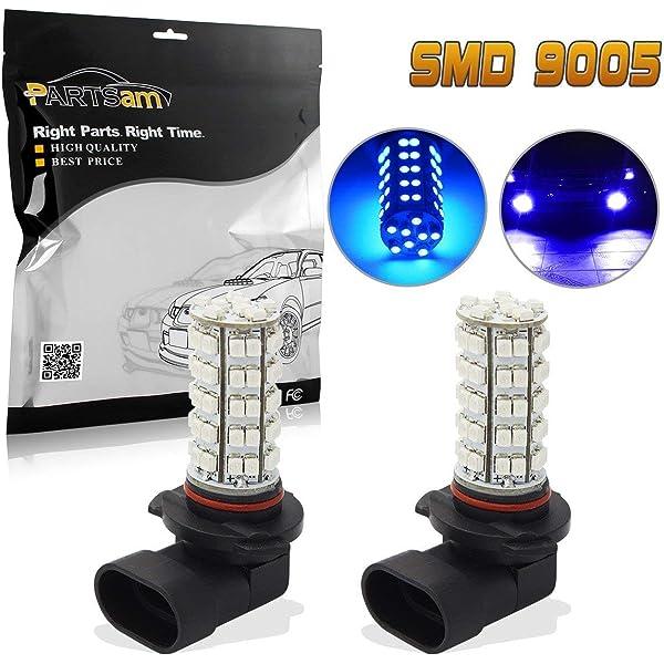 H1 2 X H10 9140 9145 68 SMD LED White Fog Light Lamp Bulb