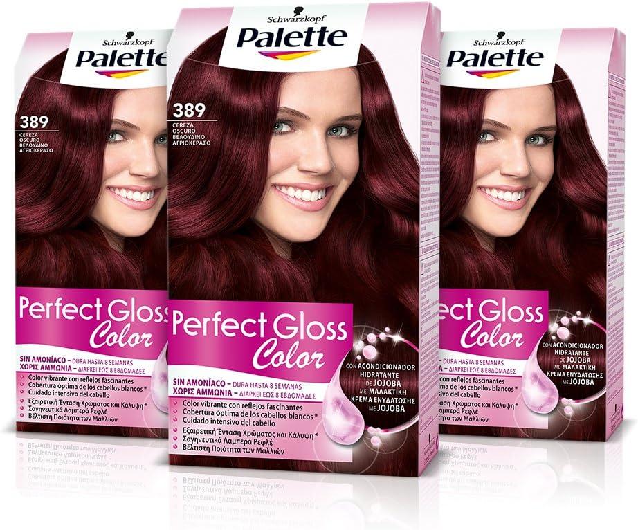 Palette Perfect Gloss Coloración del Cabello 389 Cereza ...