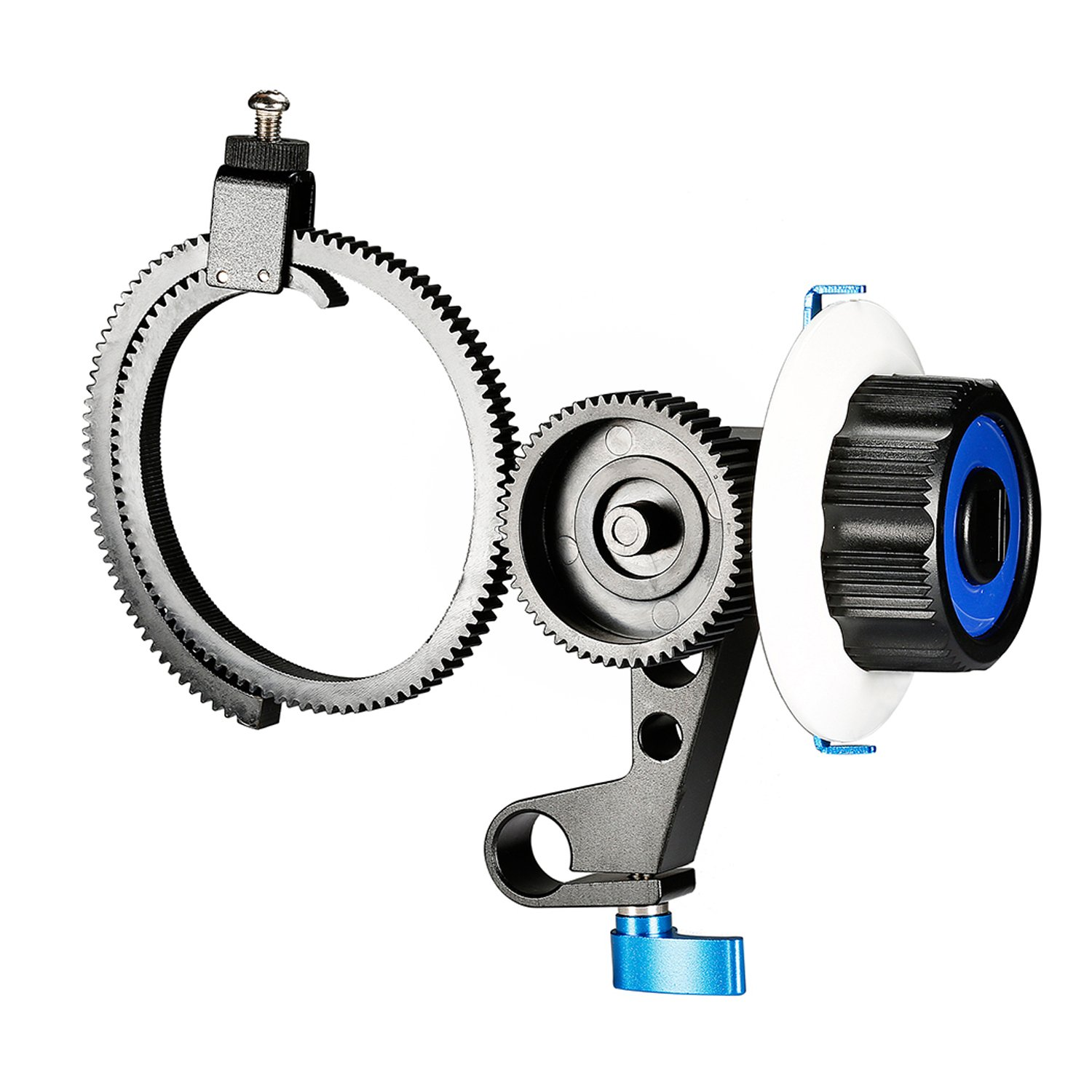 Neewer Follow Focus with Single 15mm DSLR Cameras
