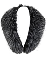 Vogueearth Women'Faux Fur Neck Scarf For Winter Coat Collar
