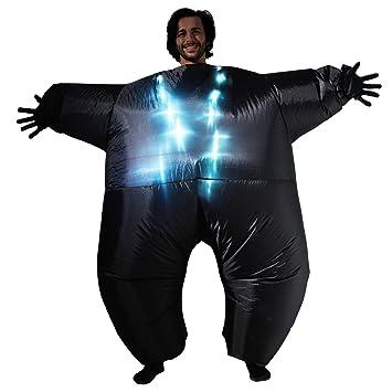 Morphsuits Disfraz Inflable MCLUMBK Megamorph, Negro con ...