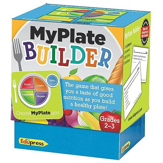 Amazon.com: Teacher Created Resources MyPlate Builder Game ...