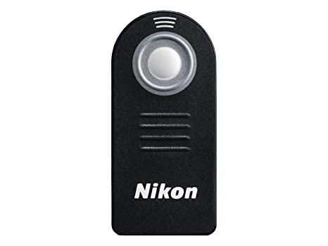 MicroMall ML-L3 IR Wireless Remote Control for Nikon D7100 D7000 D5000 D5100 D5200 D5300 D3100 D3000 D800 D600 D90 D80 D60 <span at amazon