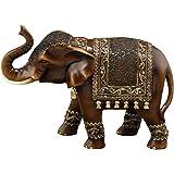 Deco 79 Polystone Elephant, 11 by 8-Inch
