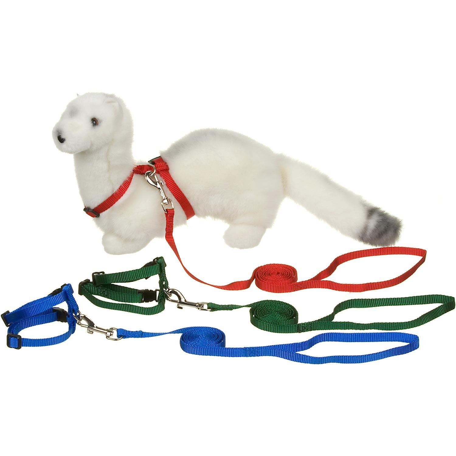 PETCO Deluxe Ferret Harness and Lead Set, Color:Assorted by Ferret Frenzy by Ferret Frenzy