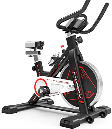 QQLK Bicicleta EstáTica Indoor - Bicicleta De Spinning - Ejercicio ...