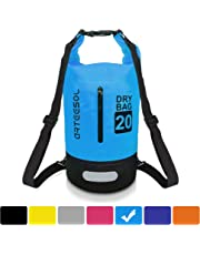 Arteesol Dry Bag, IP66 100% Waterproof Backpack Bag with Waist Strap for Beach Swim Kayaking Hiking - Protect Camera Cash Document From Water and Dirt