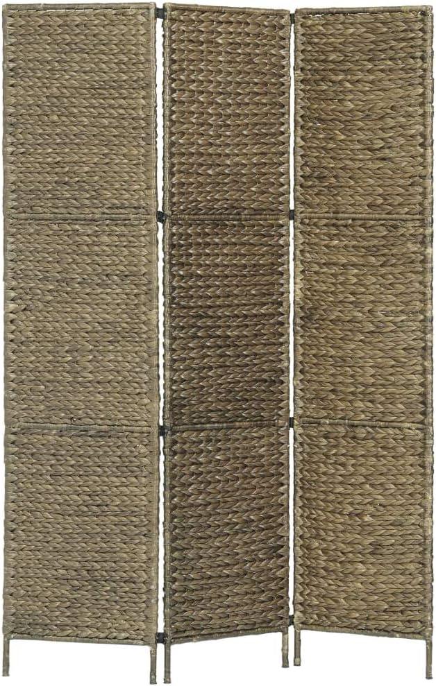 Tidyard- Biombo con 3 Paneles de Estructura metálica y Jacinto de Agua 116x160 cm.: Amazon.es: Hogar