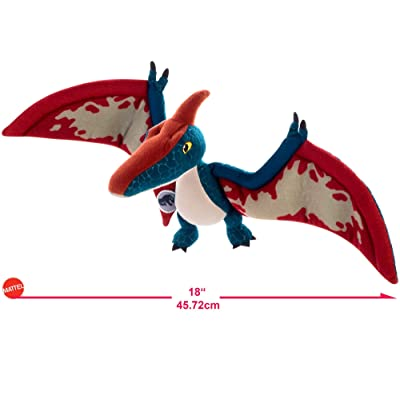 Jurassic World Basic Plush Pteranodon Figure: Toys & Games