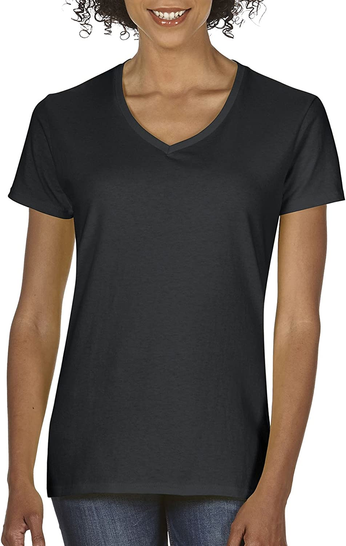 Gildan Womens Plus Size Heavy Cotton V-Neck T-Shirt, 2-Pack, Black, 3X-Large: Amazon.es: Ropa y accesorios