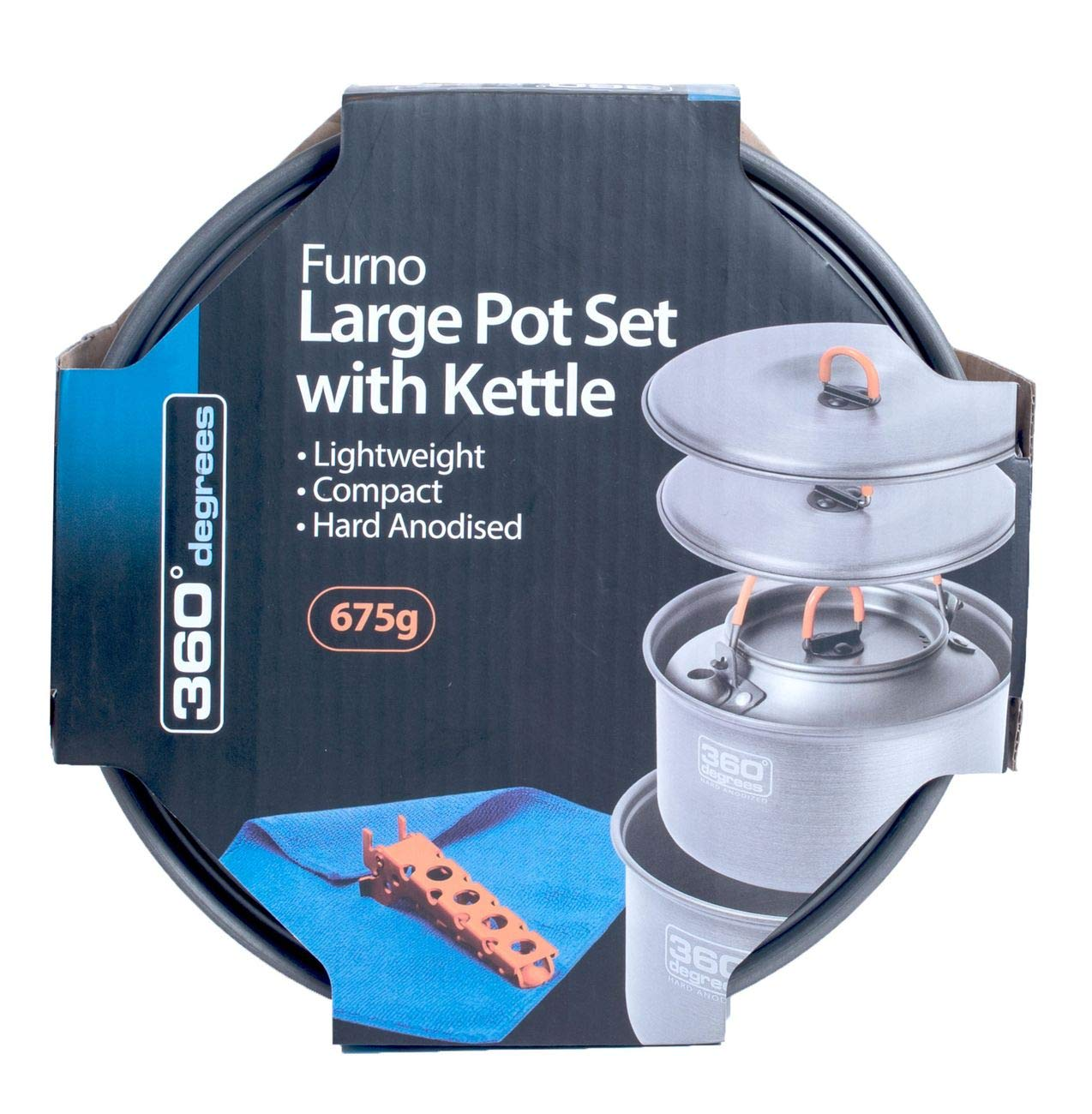 360° Furno Large Pot Set with Kettle