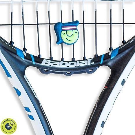 Tenis amortiguador - Amortiguador de vibración - para raqueta de tenis - especial diseño tenis amortiguadores - Set de 4 - Colección Verano: Amazon.es: ...