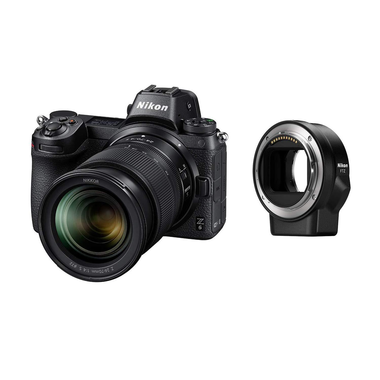 Nikon ミラーレスカメラ 一眼 Z6 24-70+FTZマウントアダプターキット Z6LK24-70FTZKIT
