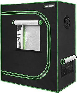 Amazon.com: VIVOSUN Mylar - Tienda de campaña hidropónica ...