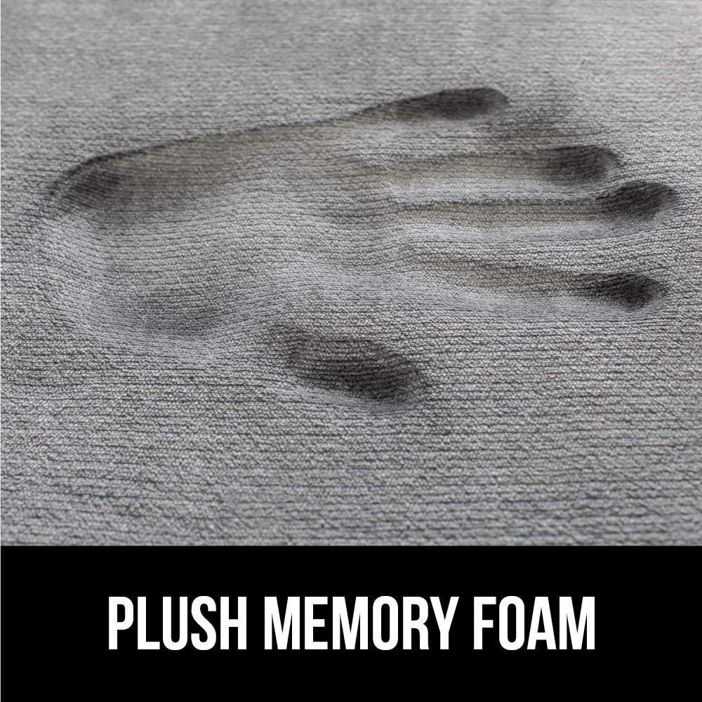 Gorilla Grip Original Thick Memory Foam Bath Rug (30x20) Cushioned, Soft Floor Mats, Absorbent Kids Bathroom Mat Rugs, Machine Wash + Dry, Luxury Plush Comfortable Carpet for Bath Room (Light Blue) by Gorilla Grip (Image #3)