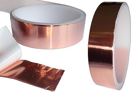 Anti-Schneckenband Kupfer Schneckenzaun selbstklebend Abwehrband 5,5mAuswahl