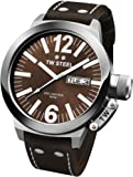 TW Steel Men's CE1009 CEO Canteen Brown Leather Brown Dial Watch