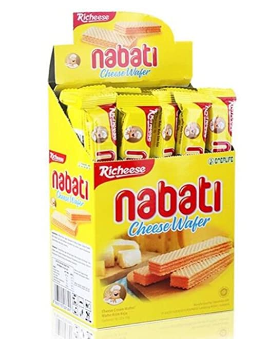 Instant Snack From Indonesia Richeese Nabati Cheese Wafer Biscuit 200g 0 4lb 7 0oz