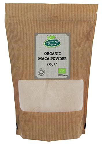 Organic Raw Maca Powder 250g by Hatton Hill Organic - Free UK Delivery