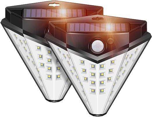 ERAY Foco LED Solar con Sensor de Movimiento, Luz Solar Exterior ...