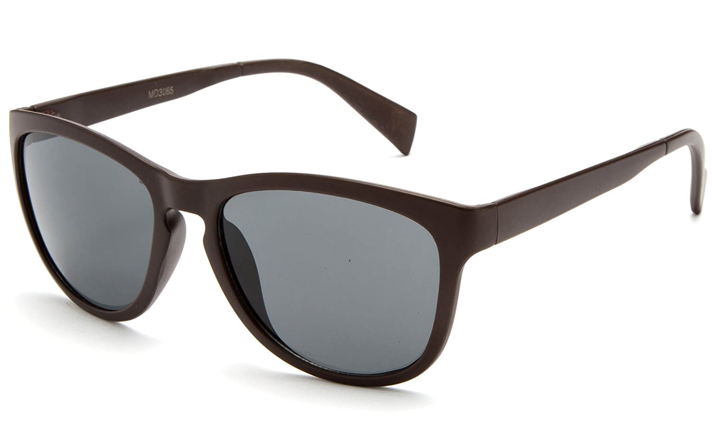 Radial Squared Modern Flash Mirrored Fashion Sunglasses with UV 400 Protection Newbee Fashion