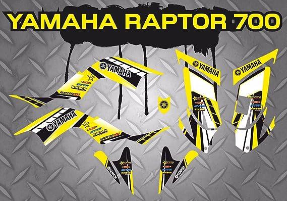 Aufkleber Set Yamaha Raptor 700 Sticker Auto