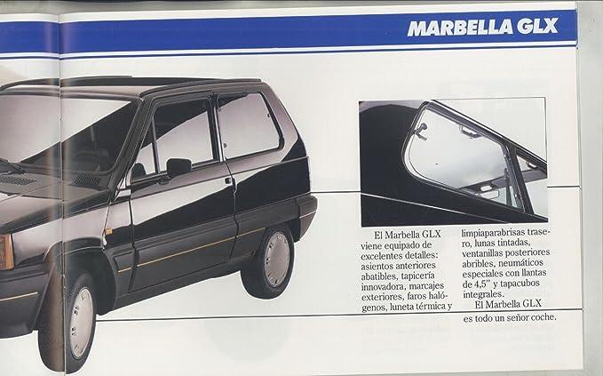 Amazon.com: 1988 Seat Marbella Brochure Spanish ...