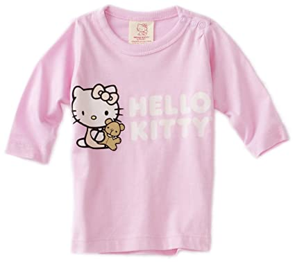 653a6d5a4 Amazon.com: Hello Kitty Organics Baby Girls' Tiny Chum Long Sleeve Snap T- Shirt: Infant And Toddler T Shirts: Clothing