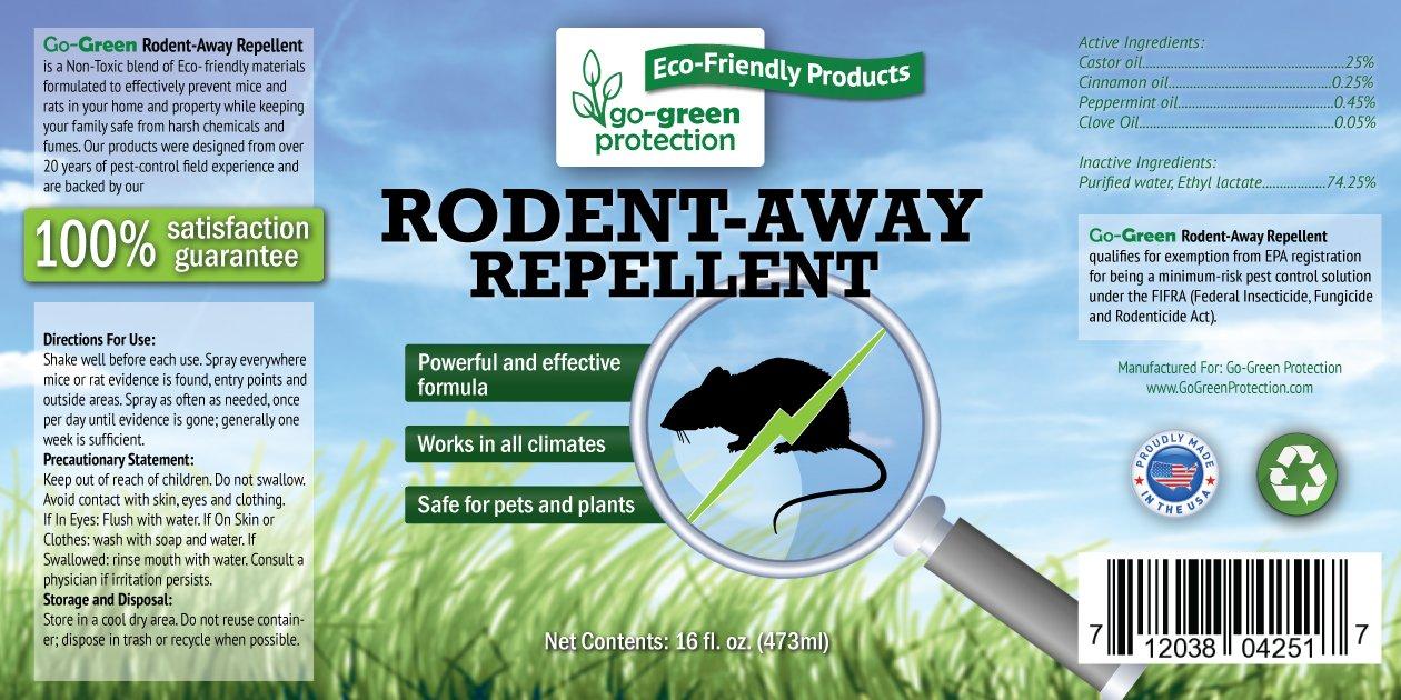 amazon com go green mice and rat repellent all natural humane