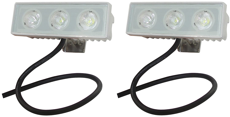 Shoreline Marine LED Spreader/Docking Light - 2 Pack South Bend Sporting Goods SL76631