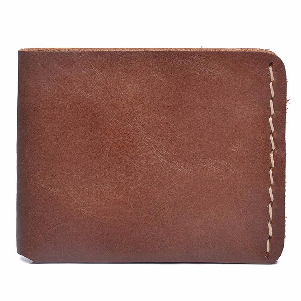 NHGY Leather Purse for Men to Return to The Ancient and Short Purse