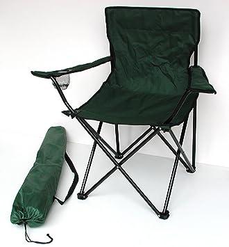 Lex Silla Plegable Verde Silla de Camping Pesca Silla ...